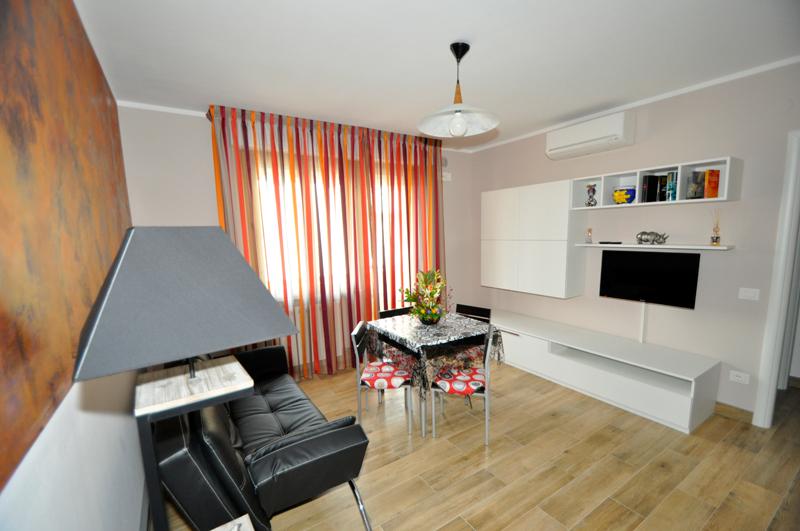 Zona giorno con stile idee per quot non dividere soggiorno e cucina